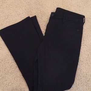 KUT from the Kloth Black Baby Bootcut Jeans 8S
